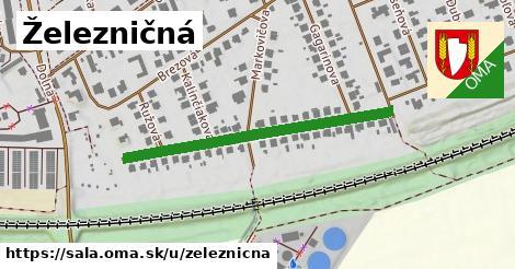 ilustrácia k Železničná, Šaľa - 402m