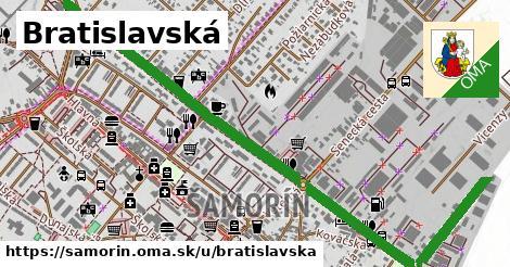 ilustrácia k Bratislavská, Šamorín - 344m