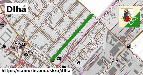ilustrácia k Dlhá, Šamorín - 663m