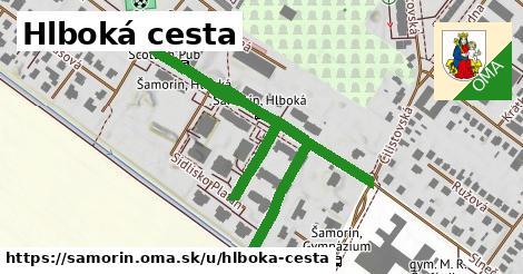 ilustrácia k Hlboká cesta, Šamorín - 550m