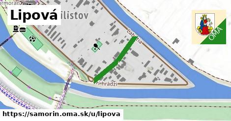 ilustrácia k Lipová, Šamorín - 195m