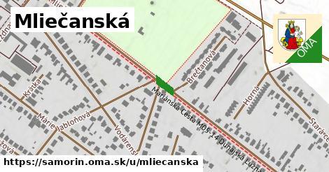 ilustrácia k Mliečanská, Šamorín - 1,51km