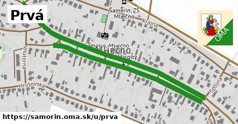 ilustrácia k Prvá, Šamorín - 1,16km