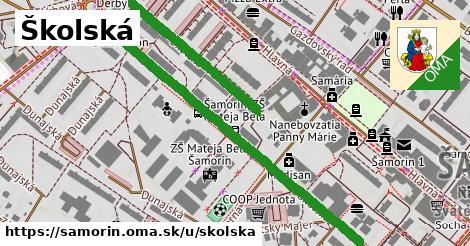 ilustrácia k Školská, Šamorín - 0,98km