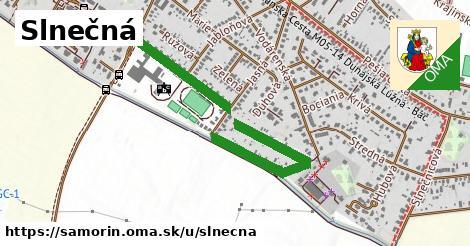 ilustračný obrázok k Slnečná, Šamorín
