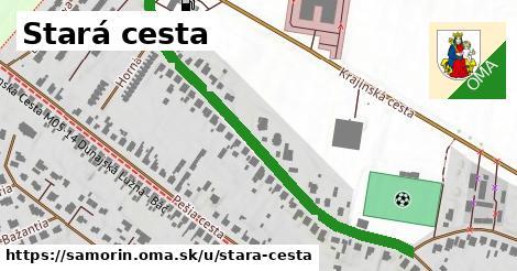 ilustrácia k Stará cesta, Šamorín - 620m