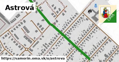 ilustrácia k Astrová, Šamorín - 228m