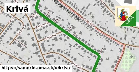 ilustrácia k Krivá, Šamorín - 585m