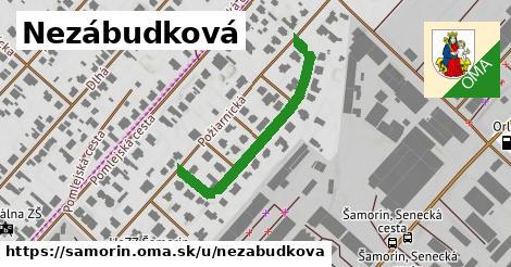 ilustrácia k Nezábudková, Šamorín - 352m