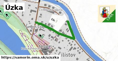 ilustrácia k Úzka, Šamorín - 505m