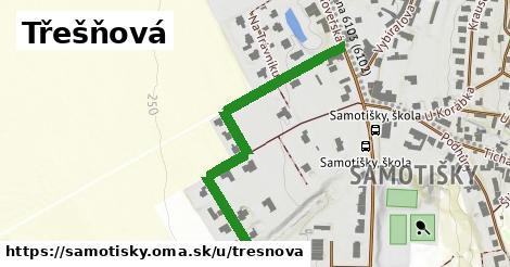 ilustrácia k Třešňová, Samotišky - 462m