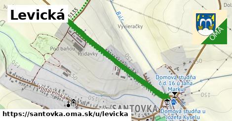 ilustrácia k Levická, Santovka - 2,4km
