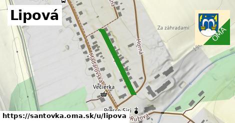 ilustrácia k Lipová, Santovka - 239m
