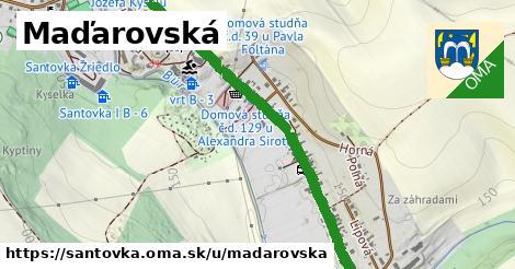ilustrácia k Maďarovská, Santovka - 194m