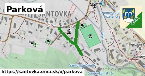 ilustrácia k Parková, Santovka - 333m