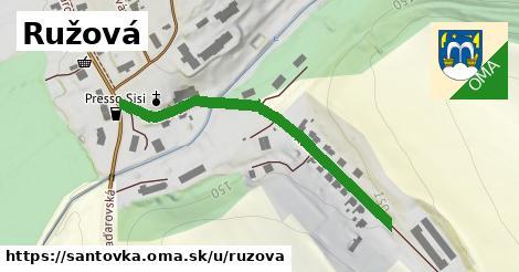 ilustrácia k Ružová, Santovka - 467m