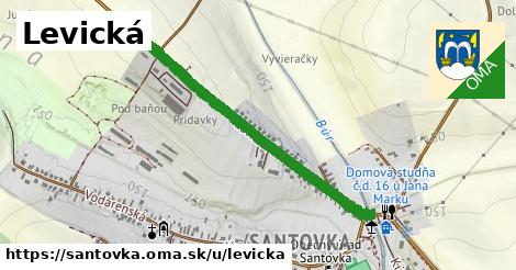 ilustrácia k Levická, Santovka - 0,85km