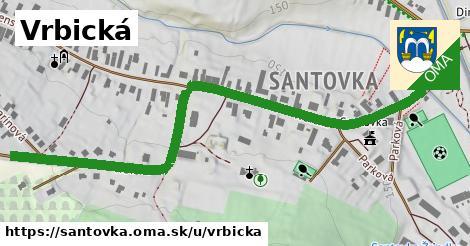 ilustrácia k Vrbická, Santovka - 0,88km