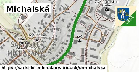 ilustrácia k Michalská, Šarišské Michaľany - 517m