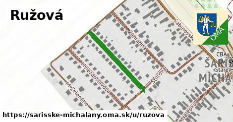 ilustrácia k Ružová, Šarišské Michaľany - 251m
