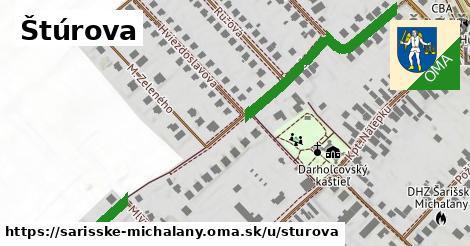 ilustrácia k Štúrova, Šarišské Michaľany - 339m