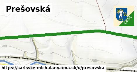 ilustrácia k Prešovská, Šarišské Michaľany - 3,0km