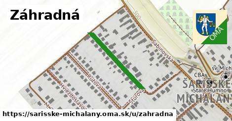 ilustrácia k Záhradná, Šarišské Michaľany - 241m
