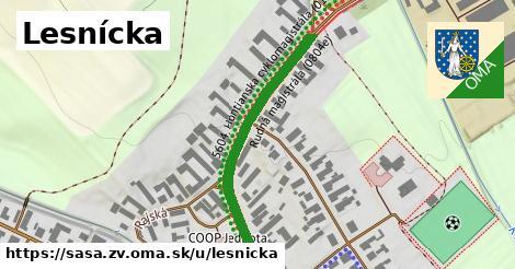 ilustrácia k Lesnícka, Sása, okres ZV - 259m