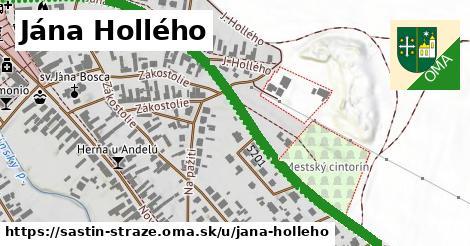ilustrácia k Jána Hollého, Šaštín-Stráže - 1,08km