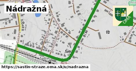 ilustrácia k Nádražná, Šaštín-Stráže - 0,88km