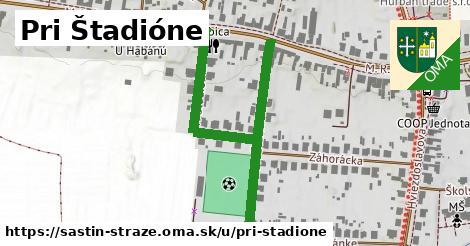 ilustrácia k Pri štadióne, Šaštín-Stráže - 594m