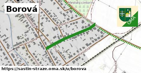 ilustrácia k Borová, Šaštín-Stráže - 289m