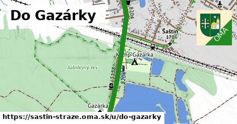 ilustrácia k Do Gazárky, Šaštín-Stráže - 0,88km