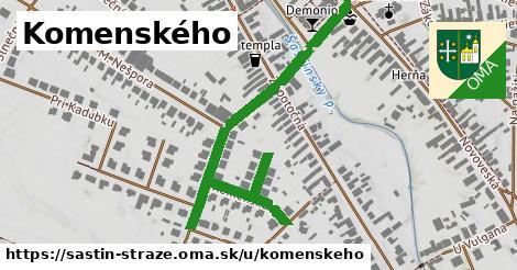 Komenského, Šaštín-Stráže