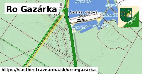 ilustrácia k Ro Gazárka, Šaštín-Stráže - 1,05km