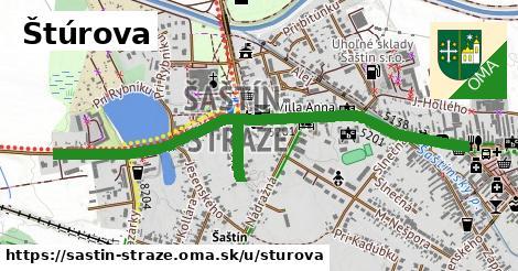 ilustrácia k Štúrova, Šaštín-Stráže - 1,38km