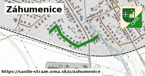ilustrácia k Záhumenice, Šaštín-Stráže - 270m