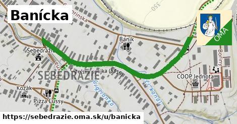 ilustrácia k Banícka, Sebedražie - 555m