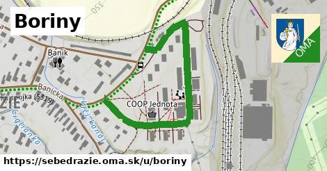 ilustrácia k Boriny, Sebedražie - 561m