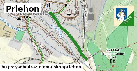 ilustrácia k Priehon, Sebedražie - 660m