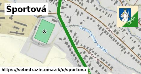ilustrácia k Športová, Sebedražie - 425m