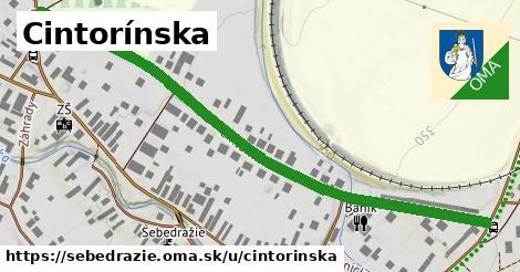 ilustrácia k Cintorínska, Sebedražie - 0,73km