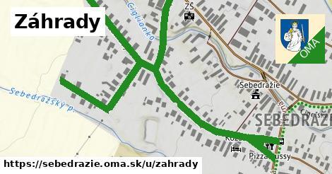 ilustrácia k Záhrady, Sebedražie - 1,09km