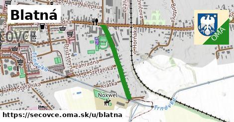 ilustrácia k Blatná, Sečovce - 495m
