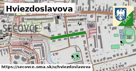 ilustrácia k Hviezdoslavova, Sečovce - 332m