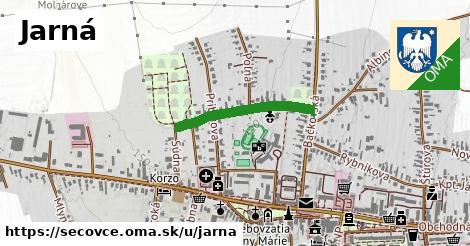 ilustračný obrázok k Jarná, Sečovce