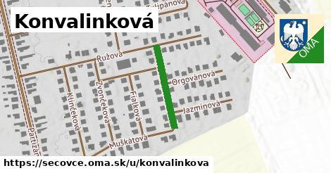ilustrácia k Konvalinková, Sečovce - 190m