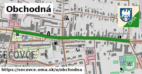 ilustrácia k Obchodná, Sečovce - 608m