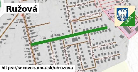 ilustrácia k Ružová, Sečovce - 422m