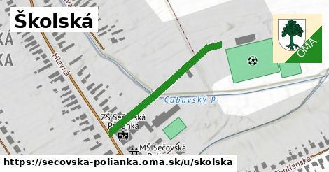 ilustrácia k Školská, Sečovská Polianka - 325m